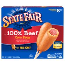 State Fair Corn Dogs, 100% Beef