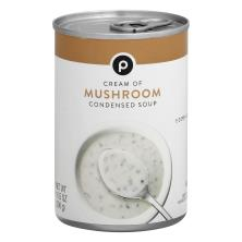 Publix Soup, Condensed, Cream of Mushroom