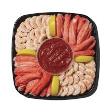 Shrimp & Surimi Platter, Small, 40 Oz, Ready to Eat