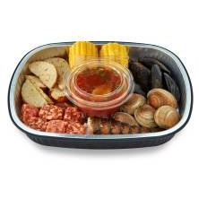 Seafood Boil, Cooking Required, Serves 1