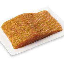 Salmon Fillets, Lemon-Herb-Seasoned Fresh, Ready-To-Cook