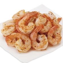 Medium Cooked Shrimp, Cajun-Seasoned Ready to Eat