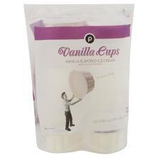 Publix Vanilla Cups
