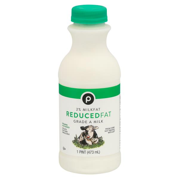 Publix Milk, Reduced Fat, 2% Milkfat