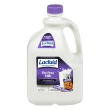Lactaid Milk, Fat Free, 100% Lactose Free