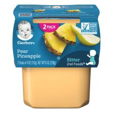 Gerber 2nd Foods Pear Pineapple