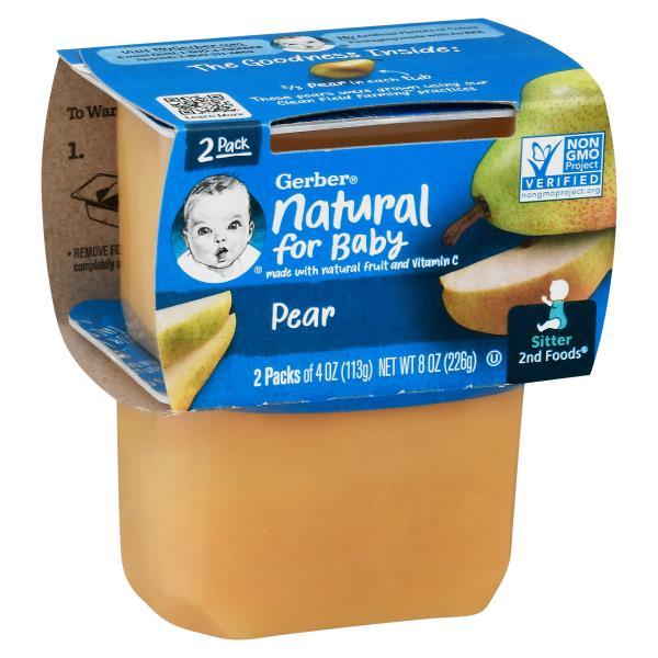 Gerber 2nd Foods Pear, Sitter