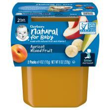 Gerber 2nd Foods Mixed Fruit, Apricot