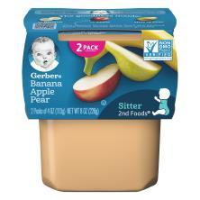 Gerber 2nd Foods Banana Apple Pear