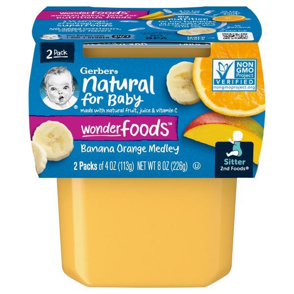 Gerber 2nd Foods Banana Orange Medley