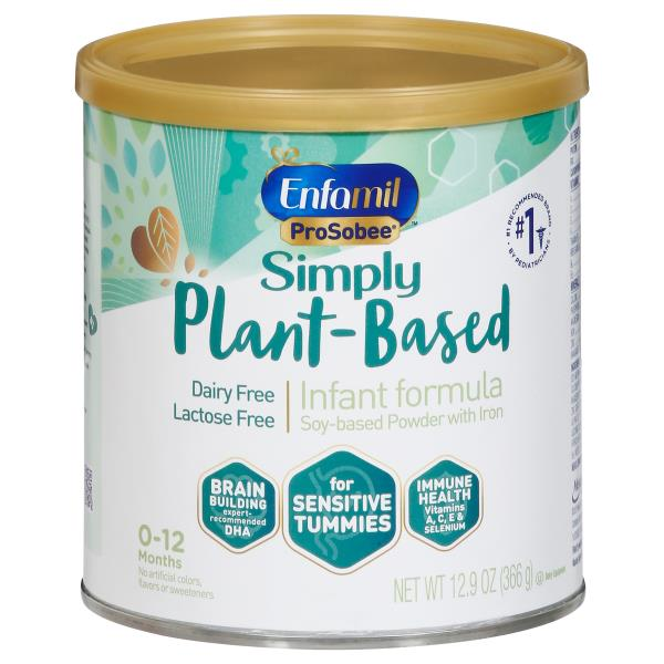 Enfamil ProSobee Infant Formula, Soy, Lactose-Free Powder with Iron, Through 12 Months