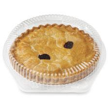 No-Sugar-Added Blueberry Pie