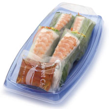 Afc Sushi Summer Roll Prepared in Store, Ready to Eat