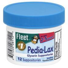 Pedia-Lax Glycerin Suppositories