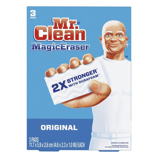Mr Clean Household Cleaning Pads, MagicEraser, Original