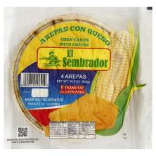 El Sembrador Corn Cakes, with Cheese