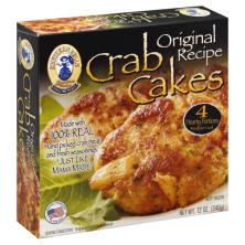 Southern Belle Crab Cakes, Original Recipe