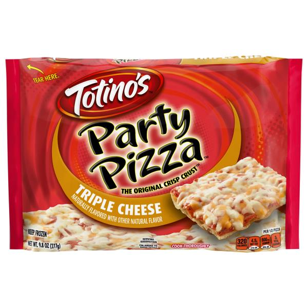 Totinos Party Pizza, Triple Cheese