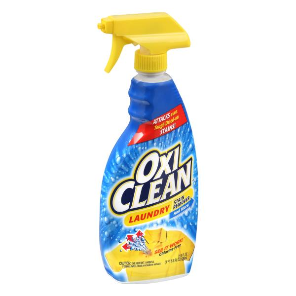 Oxi Clean Stain Remover, Laundry