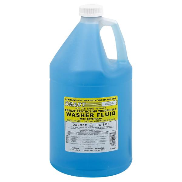 Smart Windshield Washer Fluid, Freeze Protecting
