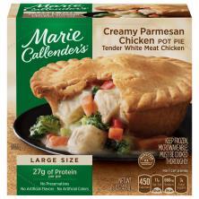 Marie Callenders Pot Pie, Creamy Parmesan Chicken