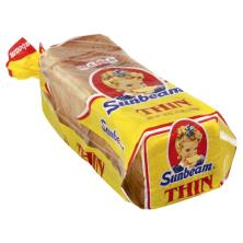 Sunbeam Bread, Enriched, Thin