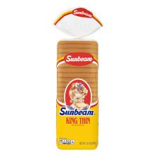Sunbeam Bread, Enriched, King Thin