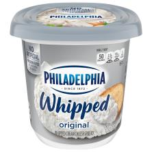 Philadelphia Whipped Cream Cheese Spread, Whipped, Original