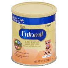 Enfamil A.R. Infant Formula, Milk-Based with Iron, Powder, Through 12 Months