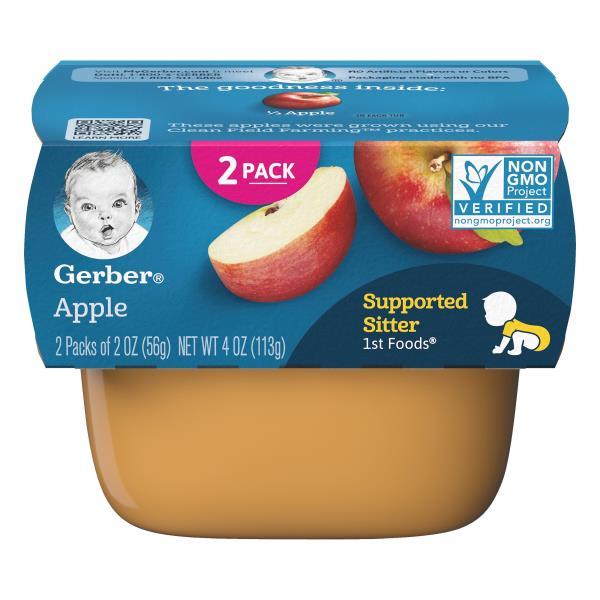 Gerber 1st Foods Baby Food, Apple