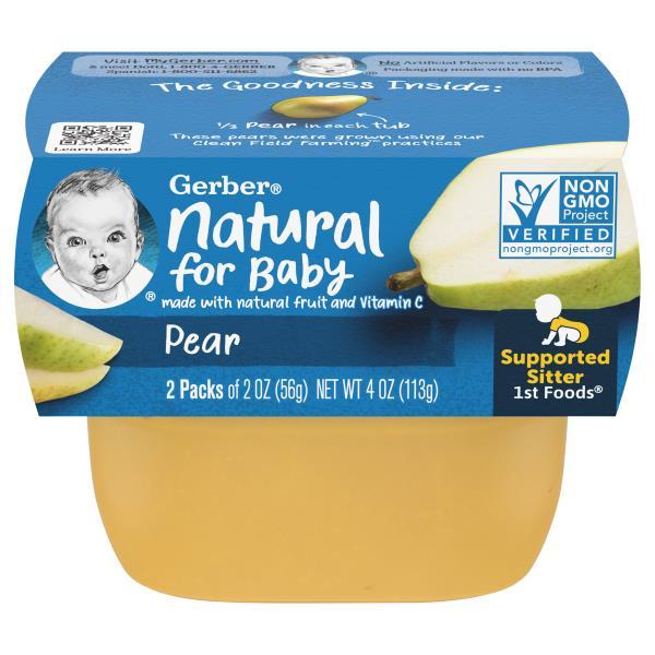 Gerber 1st Foods Baby Food, Pear