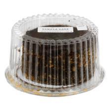 "7"" Vanilla Cake Fudge Icing"