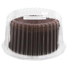 "7"" Chocolate Cake Fudge Icing"