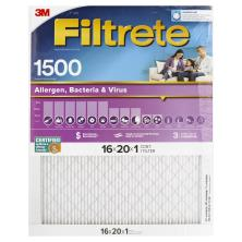 3m Filtrete Air Cleaning Filter, Ultra Allergen Reduction 16x20x1