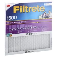 Filtrete Healthy Living Air Filter, Electrostatic High Performance, Ultra Allergen, 20 x 20 x 1
