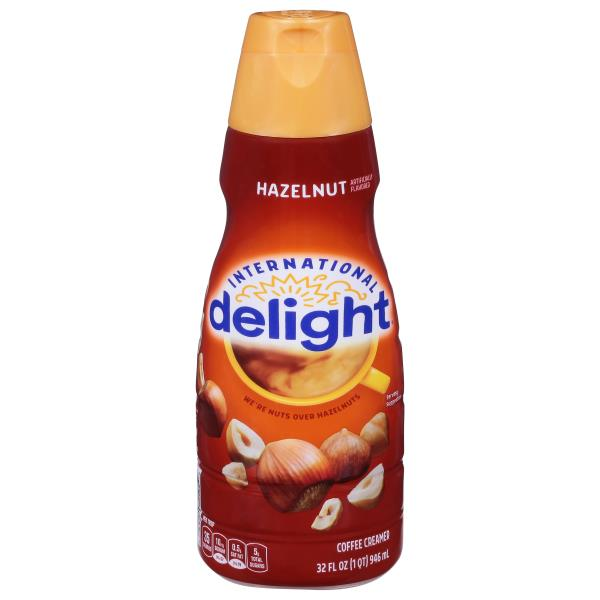 International Delight Coffee Creamer, Gourmet, Hazelnut