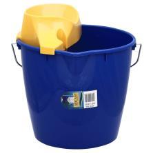 Aricasa Essentials Line Bucket + Wringer, Round
