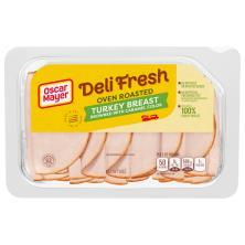 Oscar Mayer Deli Fresh Turkey Breast, Oven Roasted