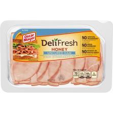 Oscar Mayer Deli Fresh Ham, Uncured, Honey