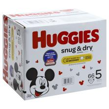 Huggies Snug & Dry Diapers, Disney Baby, Size 5 (Over 27 lb)