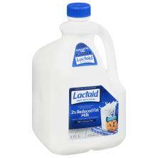Lactaid Milk, 2% Reduced Fat, 100% Lactose Free, 2% Milkfat