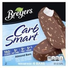 Breyers Carb Smart Ice Cream Bar, Almond Bar