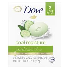 Dove Go Fresh Beauty Bar, Cucumber & Green Tea Scent, Cool Moisture