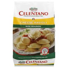 Celentano Ravioli, Mini Rounds, Cheese
