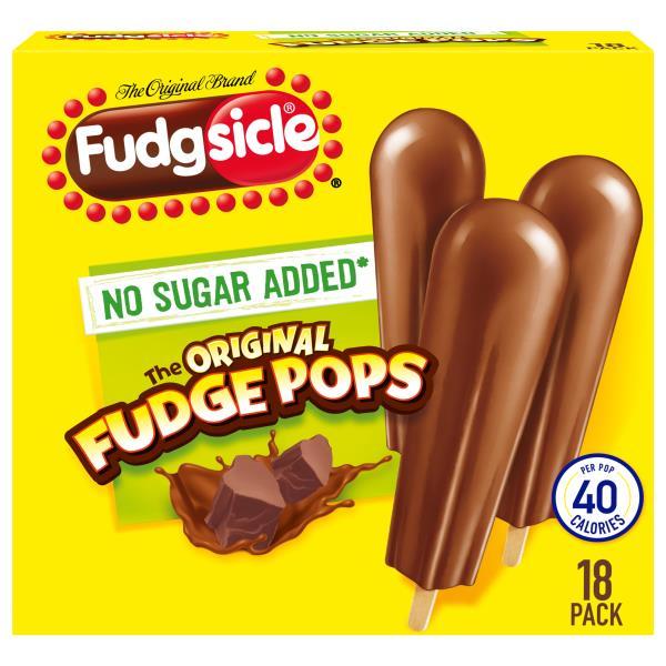 Fudgsicle Fudge Pops, The Original, 20 Pack