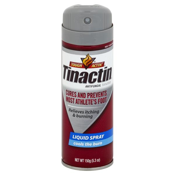 Tinactin Tough Actin' Antifungal, Liquid Spray