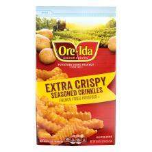 Ore Ida Seasoned Crinkles, Extra Crispy