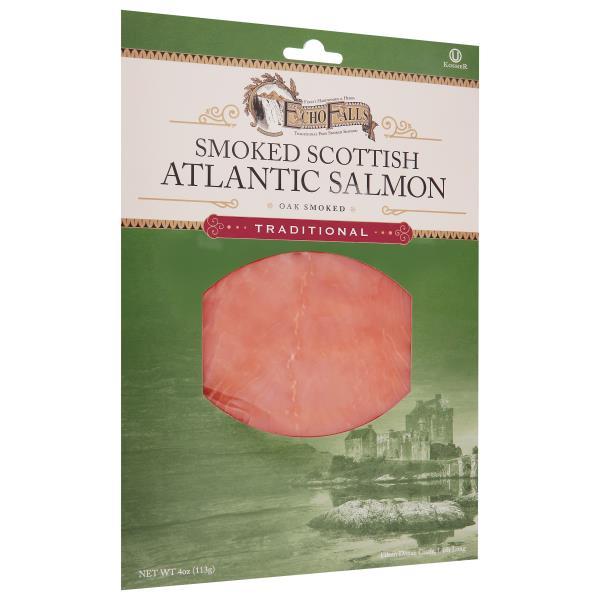 Echo Falls Salmon, Scottish, Oakwood Smoked : Publix com