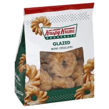 Krispy Kreme Crullers, Glazed, Mini