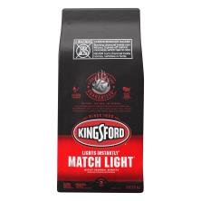 Kingsford Charcoal Briquets, Instant, Match Light